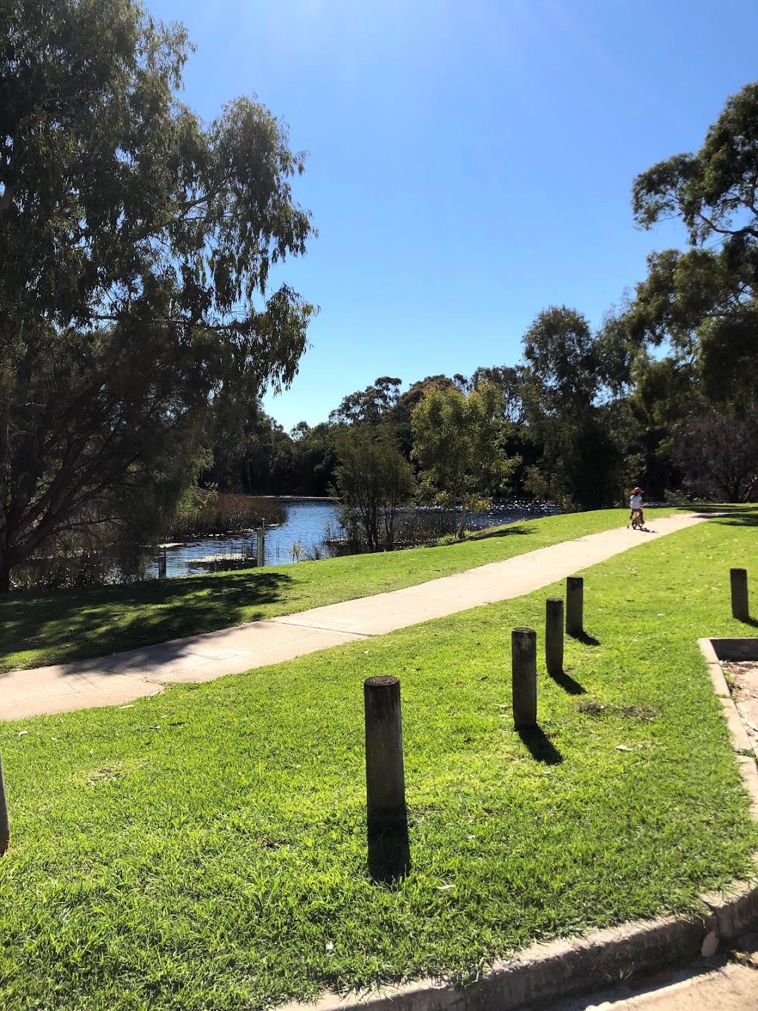 パース公園池