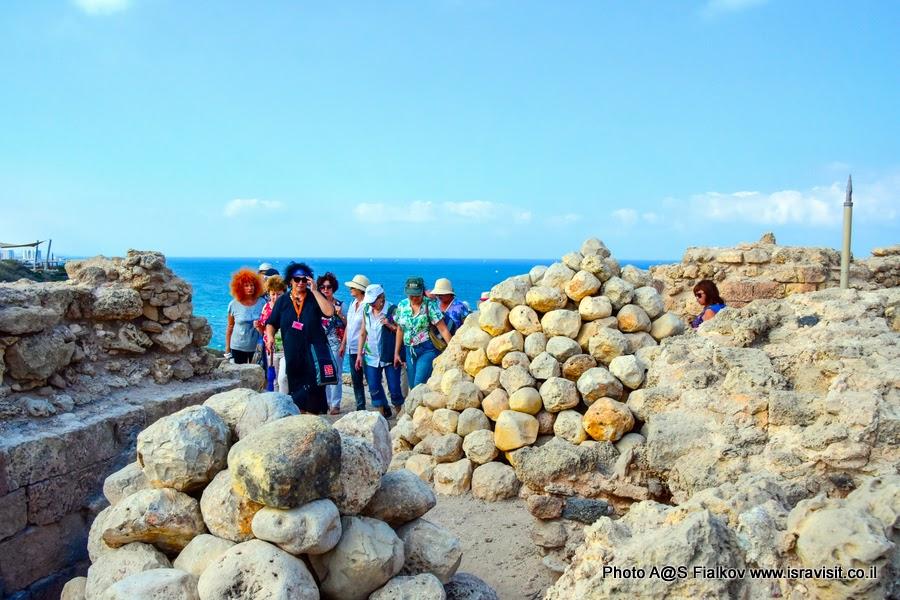 Гид в Израиле Светлана Фиалкова - экскурсия в Аполлонию или Арсуф. Крепость крестоносцев.