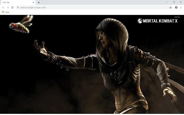 Mortal Kombat X Wallpapers and New Tab
