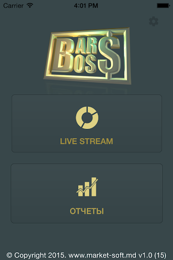 BarBOSS - Dashboard