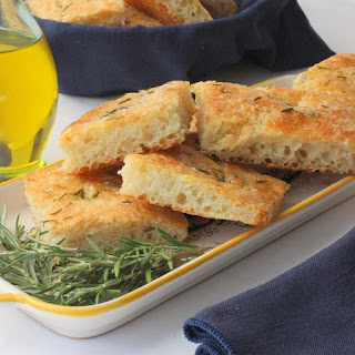 Fantastic Focaccia with Rosemary and Olive Oil