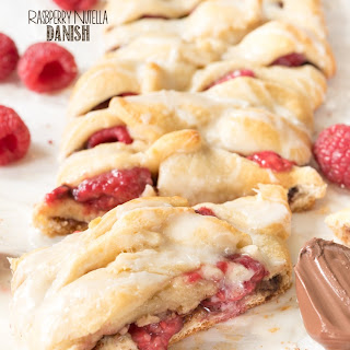 Easy Raspberry Nutella Danish