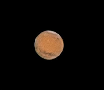Photo: Mars Dec 21 with olympus mons