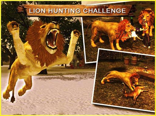 狮子狩猎挑战!