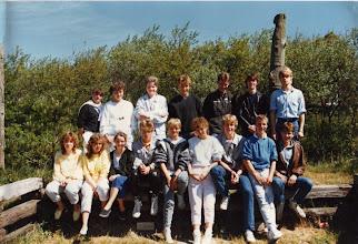 Photo: Abschlußklasse 10b (1985)