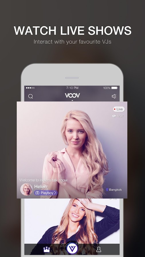 VOOV - Live Video Broadcasting- screenshot