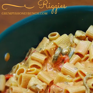 Creamy Chicken Riggies