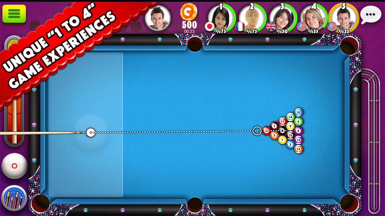 Pool Strike:Online 8 ball+Chat- screenshot