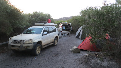 Photo: Camp @ Thomas Fishery