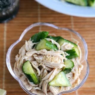 Cold Cucumber Sesame Chicken Salad