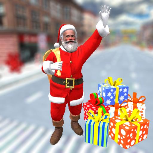 Baixar Christmas Santa Gift Delivery City Driving