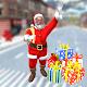 Christmas Santa Gift Delivery City Driving