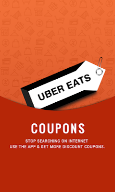 Free Meals Coupons for UberEatsのおすすめ画像1