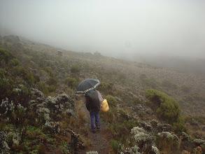 Photo: Approaching Barranco Camp