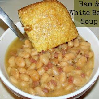 Slow Cooker Ham & White Beans Recipe