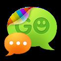 GO SMS Pro Light Blue theme icon