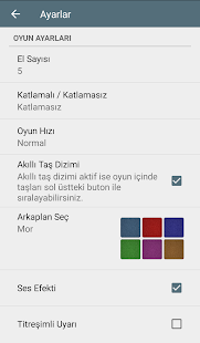101 Okey - İnternetsiz- screenshot thumbnail
