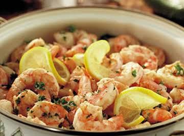 Traditional Shrimp Scampi