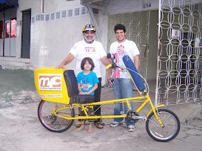 Photo: Lauro, Leonardo e Alex e é claro a Emília
