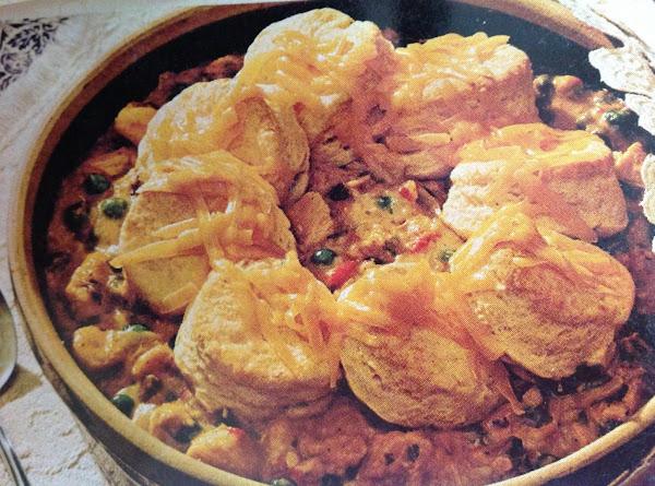 Chicken And Biscuit Casserole Recipe