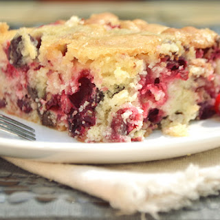 Moist Cranberry Chocolate Chip Butter Cake