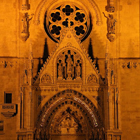 The Zagreb Cathedral by Andrea Tomašević - Buildings & Architecture Places of Worship ( christianity, church, cathedral, zagreb, entrance )