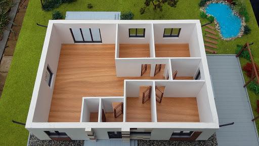 Dom gotowy MP1 - Rzut parteru numer 4