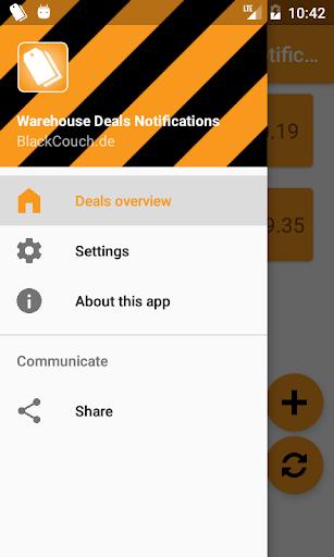 Warehouse Deals Notifications 1.2.4 screenshots 4