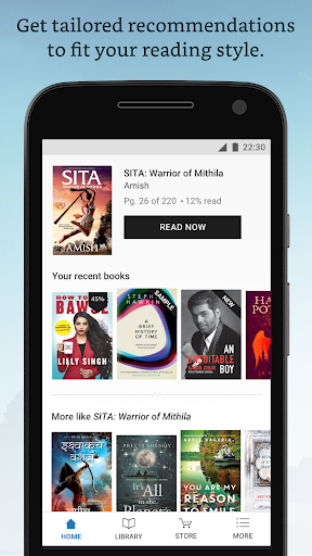 Amazon Kindle Lite u2013 2MB. Read millions of eBooks 1.5 screenshots 5