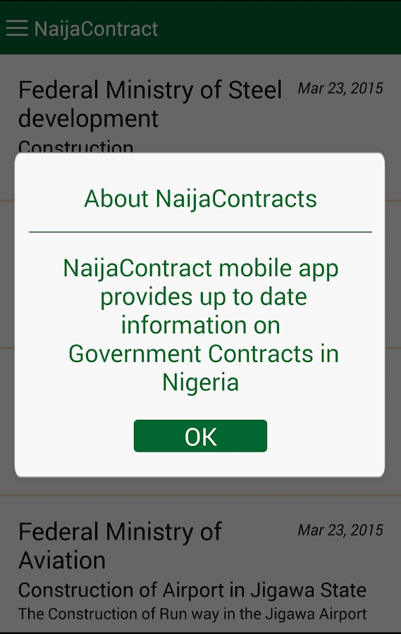NaijaContract- screenshot