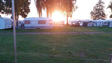 Photo: Wschód słońca z kempingu SZEKLA.