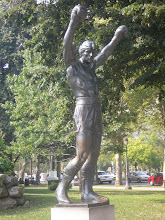Photo: Statue de Rocky