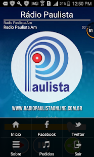 Rádio Paulista Online- screenshot thumbnail
