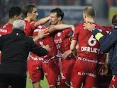 Zulte Waregem met tien tegen elf na strafschoppen voorbij Sporting Lokeren naar duel met Racing Genk