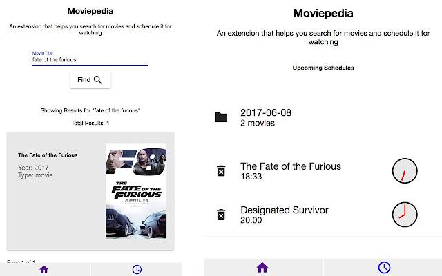 Movie Scheduler