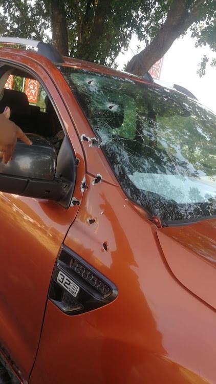 Alleged Rrhino poaching kingpin, Sydney Petros Mabuza was gun down in Hazyview, Mpumalanga, on Thursday afternoon.
