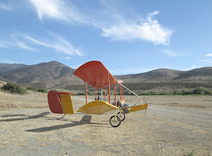 Photo: Bloop 2 is intended to be a simple and easy to fly recreational airplane for pilots who just want to get up and fly around. I call it a motorfloater, different from all other airplanes and ultralights because of its predictable and non-hazardous slow speed flight characteristics. It flies much like a paramotor, slow and forgiving, mainly because it has a very light wing loading, less than two pounds of loaded weight per square foot of wing.