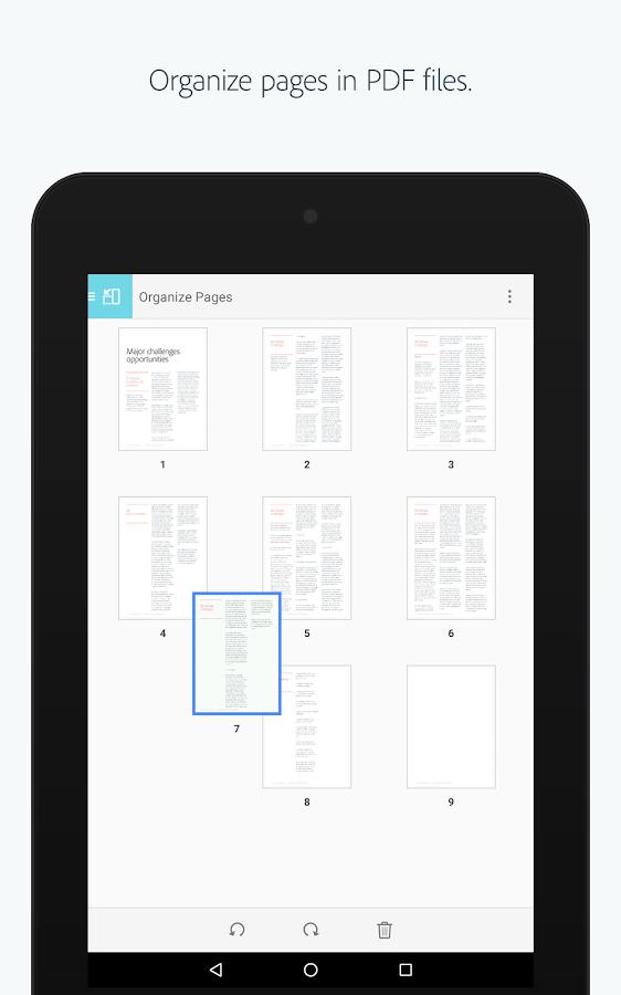 Adobe Acrobat Reader- screenshot