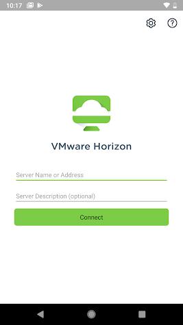 VMware Horizon Client Screenshot