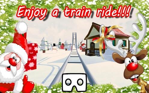 VR Christmas Journey Joy Ride - náhled