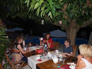 Les vins de la table d'hôtes de l'Esclériade à Vaison la Romaine en Provence, sur les contreforts du Mont ventoux