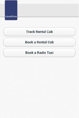 TravelTime - Cab service Pune screenshot 1