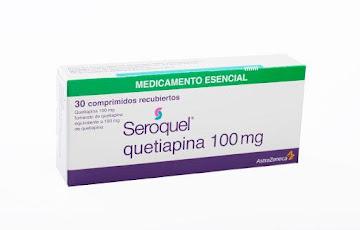 Quetiapina Seroquel 100Mg Comprimidos Caja X30Com. Astrazeneca