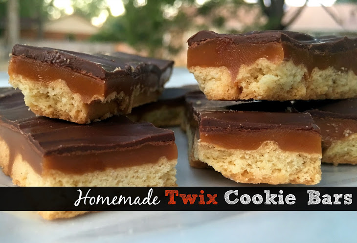 Twix Cookie Bars Recipe