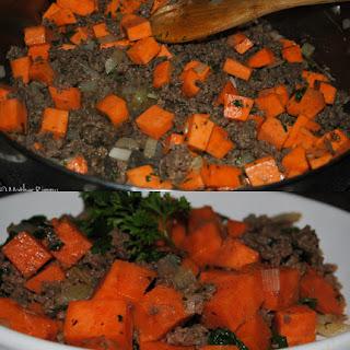 Sweet Potato Ground Beef Hash Recipes