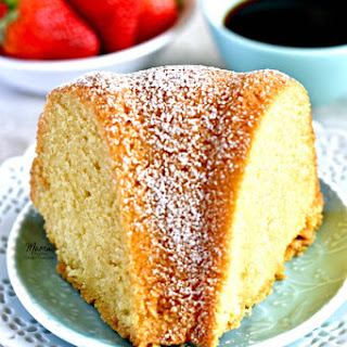 Gluten-Free Kentucky Butter Pound Cake Recipe