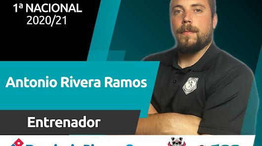 Antonio Rivera renueva como entrenador del Bahía de Almería