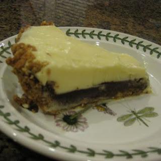White and Dark Black Bottom Pie