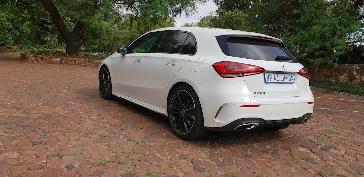 Mercedes-Benz A-Class. Picture: DENIS DROPPA