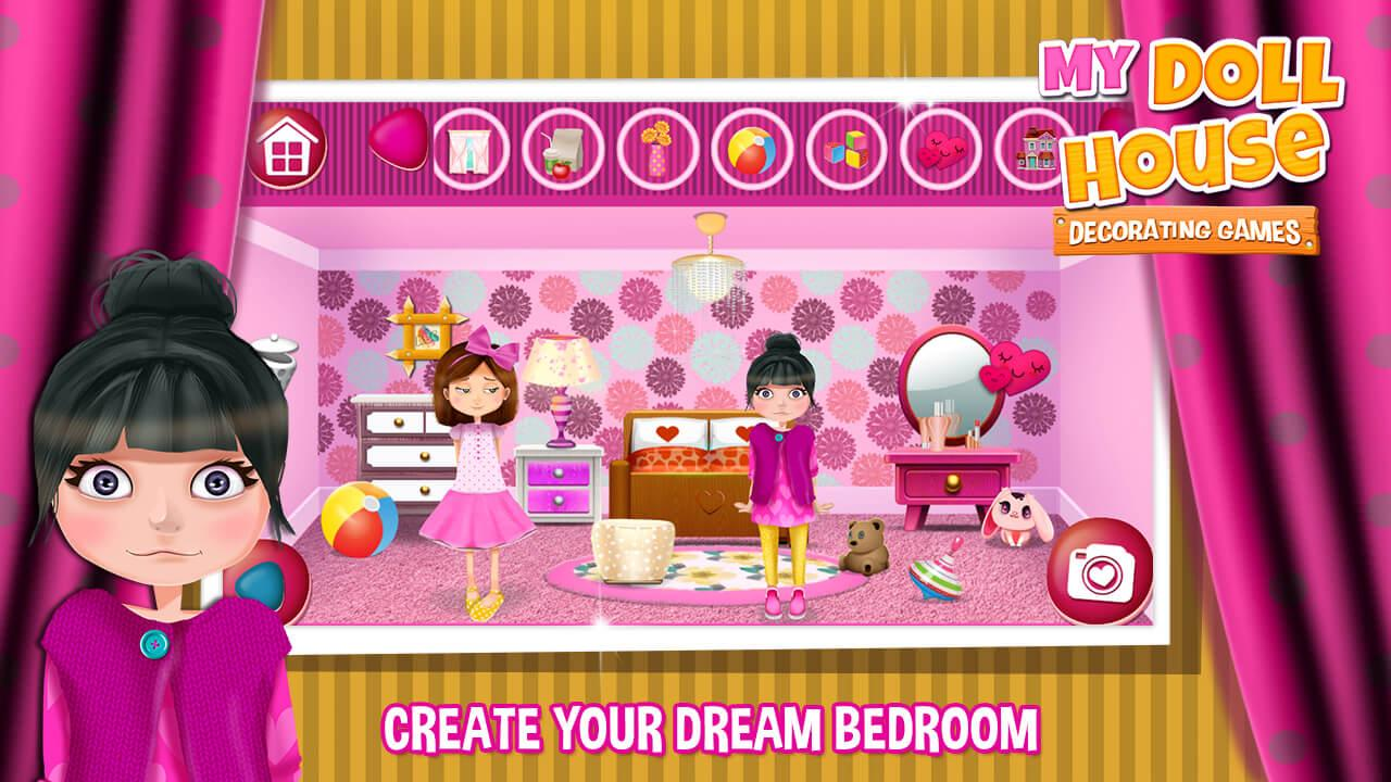 Doll House Decorating Game Screenshot Thumbnail